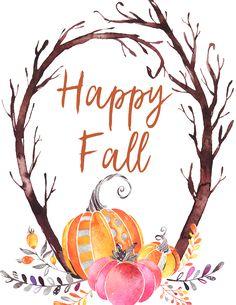 Bullet Journal Watercolour, Bridal Shower Scrapbook, Iphone 7 Wallpapers, Fall Wallpaper, Fall Pictures, Autumn Art, Fall Diy, Autumn Inspiration, Happy Fall