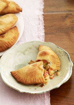 Shrimp Empanadas- The shrimp and cheese mix in this recipe to create very tasty empanadas. Share them with your family and see how they will enjoy.