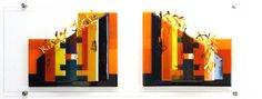 """""""Face to Face""""Size 120 x 40 x 5 cm € Glass Art, Abstract, Modern, Painting, Design, Face, Home Decor, Vanilla, Summary"""