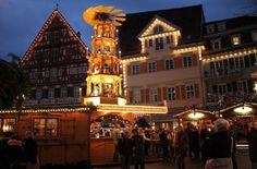 In Germany. Der Esslinger Mittelaltermarkt & Weihnachtsmarkt