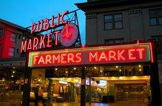 Pike Place Market Must See in Seattle