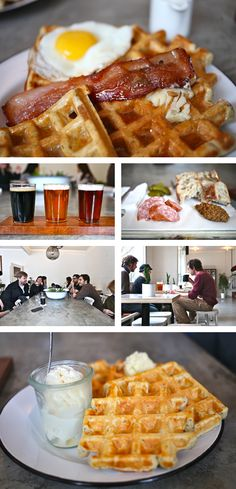 33 Acres Brewing in #Vancouver. Beers & brunch - does it get much better than this?! #craftbeer