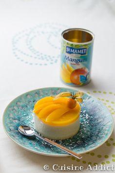 Bavarois Exotique ✪ Ananas, Mangue & Noix de Coco