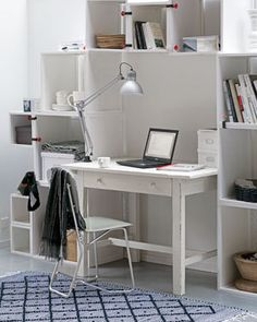 Desk Idea, nice for a tight space