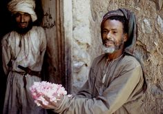 Men in Oman, 1972