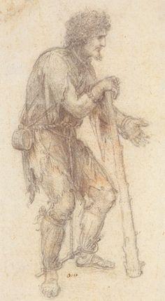 Leonardo da Vinci - Prisoner.  Art Experience NYC  www.artexperiencenyc.com/social_login/?utm_source=pinterest_medium=pins_content=pinterest_pins_campaign=pinterest_initial