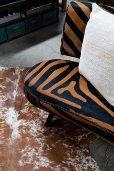 Pattern play in our showroom. Custom home decor and interior design. http://bdantiques.com/