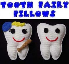 TOOTH FAIRY PILLOW DOLL WITH POCKET TOY CROCHET PATTERN