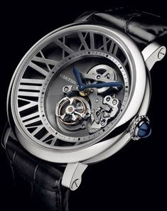 Cartier's Cadran Love Tourbillon Watch