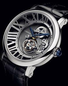 Cartier's Cadran Love Tourbillon Watch