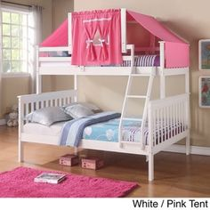 Donco Kids Mission Tent Kit Bunk Bed - Free Shipping Today - Overstock.com - 15994700 - Mobile