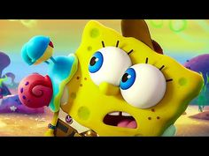 The SpongeBob Movie Exclusive - Tick Tock / Super Bowl 2020 TV Spot Trailer After SpongeBob's beloved pet snail Gary is snail-napped, he and Patrick embark on an epic adventure to The Lost City of Atlantic City to bring Gary home. Stephen Hillenburg, Keanu Reeves, Clancy Brown, Mike Mitchell, Disney Wallpaper, Cartoon Wallpaper, Trippy Wallpaper, Barbie Song, Tom Kenny