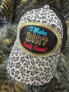 A personal favorite from my Etsy shop https://www.etsy.com/listing/230650277/dirt-cap