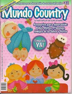 Revistas de Foamy gratis: Pintura country para niños Pintura Country, Arte Country, Country Crafts, Country Primitive, Diy And Crafts, Kids Rugs, Magazine, Books, Painting