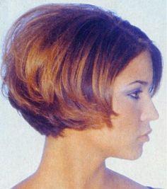 short inverted bob cuts on pinterest | Short Bob Hairstyles Front Back | Chin Length Angled Bob Shorter Back ...