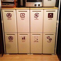 キッチンは、ものが多くて使用頻度が高いので、ついごちゃごちゃしてしまいがちです。一日に何度も立つキッチンだから、使いやすく作業効率の良い場所にしたいものです。収納、冷蔵庫、ゴミ箱、それぞれの使い方の工夫で、キッチンを使いやすくしている、ユーザーさんの実例をご紹介します。