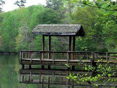 Bucket list item #6: spend time at the Lake Herrick dock