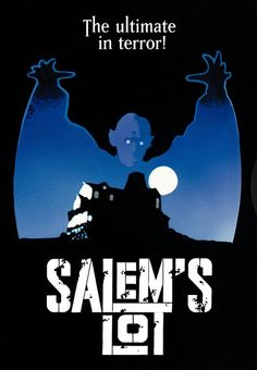 """Stephen King's """"'Salem's Lot."""" The book is even scarier than the movie. Vampires are invading a small New England town. It's up to a novelist and a young horror fan to save it. Photo and info credit: IMDb."""