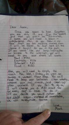 Ein Brief der sein Leben verändert. Bis ER sich ändert!