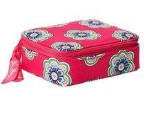Vera Bradley Pink Swirls Flowers Travel Pill Case. Starting at $14