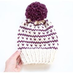Breckenridge Fair Isle Hat Knitting pattern by Kathleen Jones