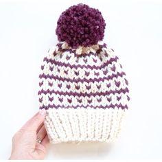 Breckenridge Fair Isle Hat Knitting pattern by Kathleen Jones