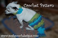 Posh Pooch Designs Dog Clothes: Free Mermaid Dog Tail Crochet Pattern