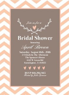 love branch bridal shower announcement invitations onlinebridal