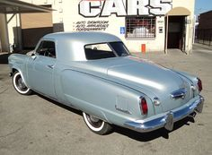 1950 Studebaker/ THIS is what thinking outside the box looks like.
