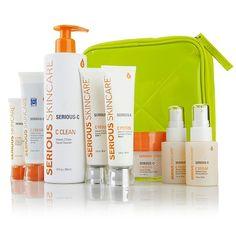 Great kit for over 40 - Serious Skincare Celebration C Wrinkle-Buster Kit