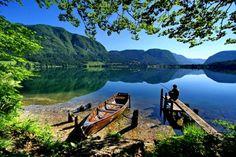 Go visit Lake Bohinj in Slovenia