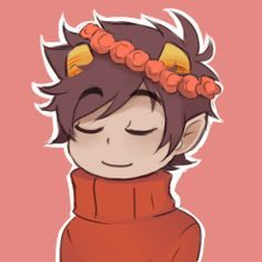 HOMESTUCK WITH FLOWER CROWNS!!