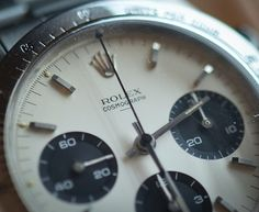 Historical Perspectives: The Very First Rolex Daytona, Explained (Or, What Is A Double-Swiss Underline Daytona?) - HODINKEE Daytona Watch, Rolex Daytona, Rolex Watches, Watches For Men, 007 Casino Royale, Vintage Rolex, Clock, Stylish Man, Kettles