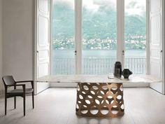 wow! Rectangular marble table JEAN BOTTE M Logos Collection by Porada | design Carlo Ballabio