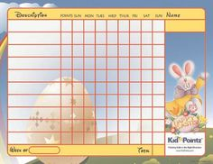 routine chart for morning for kids Daily Routine Charts For Kids ...