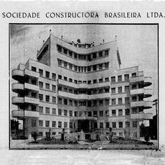 Sanatório Esperança S/A. Inaugurado em 1938, este hospital é um das mais belas construções hospitalares da cidade de São Paulo. Localizado na rua dos Ingleses, na Bela Vista, atualmente atende com o nome de Hospital Menino Jesus. Foto: Acervo do jornal Correio Paulistano