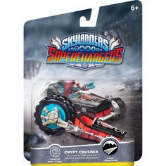 """Skylanders SuperChargers, """"Crypt Crusher"""", GamePlay Character/Action Figure, for Major Gaming Platform"""