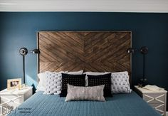 There isn't a space that East Coast Creative can't master! This bedroom was the size of a football field (almost) and she made it feel cozy. #genius