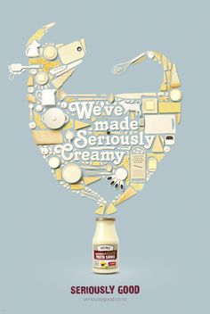 Heinz Seriously Good Sauce Print on the Behance Network