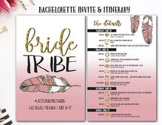 Bachelorette Itinerary Template Free Pretty Bachelorette Itinerary photo ideas from Best Itinerary Ideas Bachelorette Itinerary, Vegas Bachelorette, Bachelorette Invitations, Invite, Travel Itinerary Template, Drunk In Love, Girl First Birthday, Bride, Ems