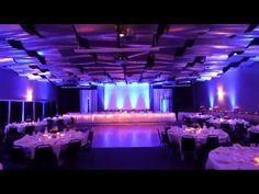 Take a virtual tour of the Skybox Banquet Room, one of two reception halls at the Metropolis Resort in Eau Claire, WI