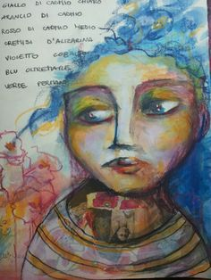 Art journal. Laura Mascarin. Mixed media.
