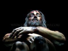 """Reproducció de l'home del Sant Sudari - exposición """"Sábana Santa"""""""