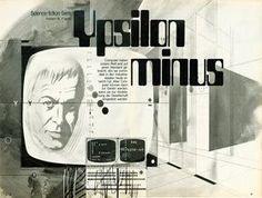 Klaus Bürgle - Illustrationen aus: Herbert W. Franke: Ypsilon Minus