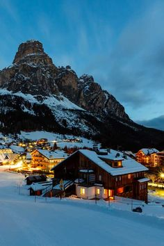 Corvara, Dolomites, Italy. For luxury hotels in the Italian Dolomites visit http://www.mediteranique.com/hotels-italy/dolomites/