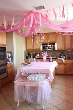 Pink Princess Party from thediva-dish.com
