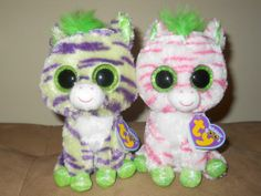 Ty Beanie Boos Sapphire and Wild The Zebras Justice Store Exclusive | eBay
