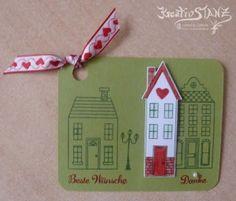 Häuser Beste Wünsche - Stampin' Up!