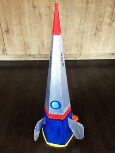 Schultüte basteln Rakete