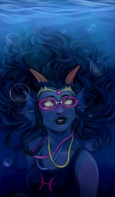 I'm gonna cosplay as Feferi for halloween